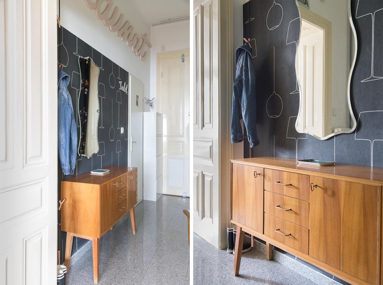 Die stylische Altbauwohnung von zwei Grafikern