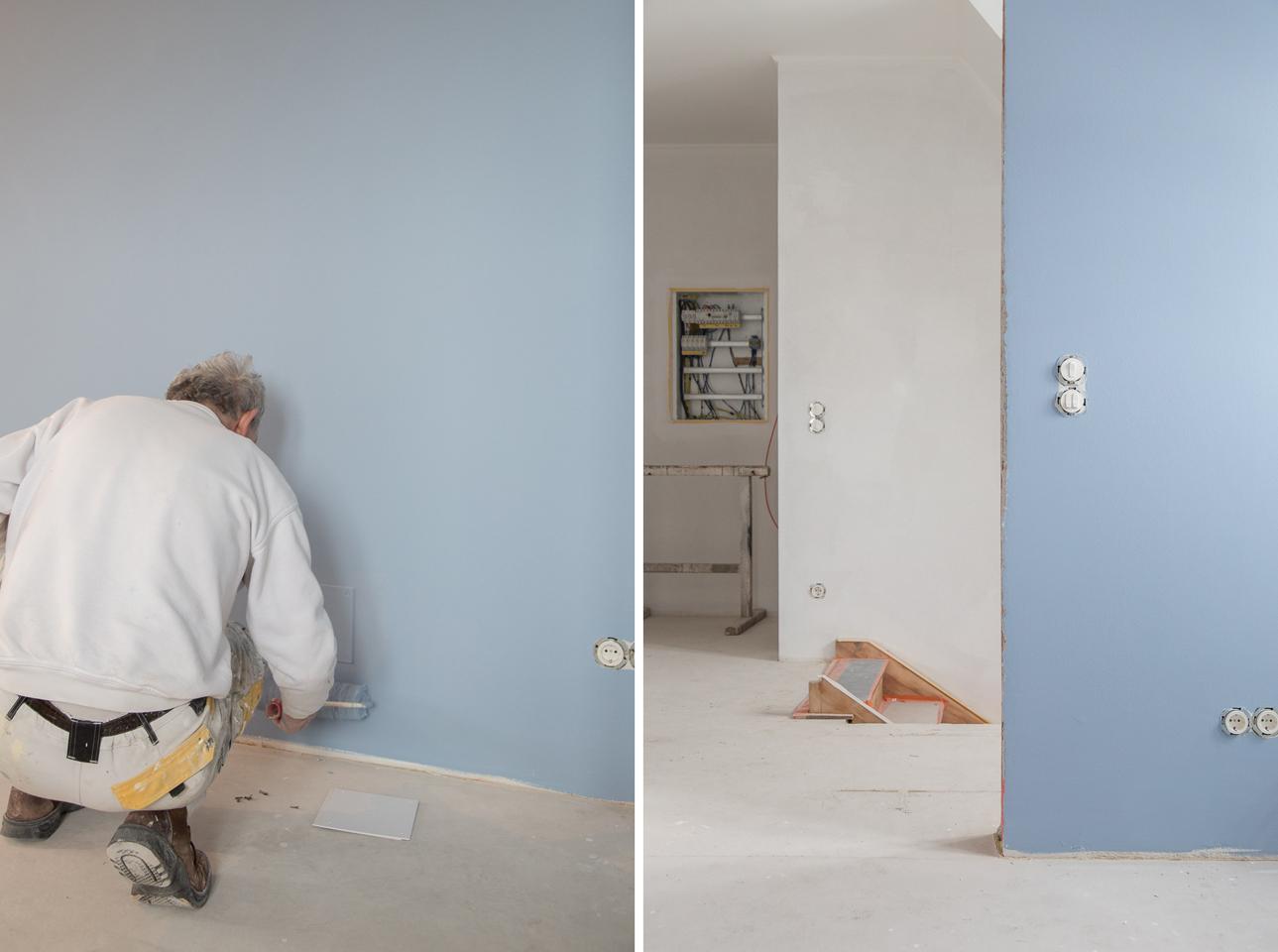 Farbe für die Wände